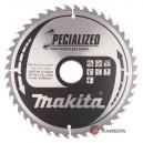 Diskas aliuminio pjovimui MAKITA Specialized 190*30 mm Z44