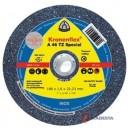 Pjovimo diskas KLINGSPOR Special 180*1,6*22,2 mm A46TZ INOX