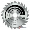 Diskas medienai BOSCH Optiline 190*30 mm Z24