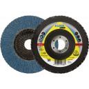 Lapelinis diskas KLINGSPOR SMT644 125x22,2 mm Nr.80