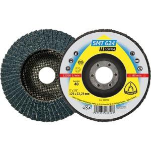 Lapelinis diskas KLINGSPOR SMT624 180x22,2 mm Nr.120