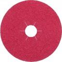Šlifavimo lapelis fibro KLINGSPOR FS964ACT 125 mm Nr.50