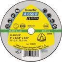 Pjovimo diskas KLINGSPOR Supra 76*1,0*10 mm A660R