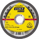 Pjovimo diskas KLINGSPOR Supra 150*1,6*22,2 mm A646R