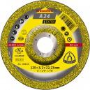 Pjovimo diskas KLINGSPOR Extra 125*3,2*22,2 mm A24EX