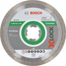 Diskas deimantinis BOSCH X-LOCK Standard for Ceramic 125 mm