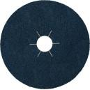 Šlifavimo lapelis fibro KLINGSPOR CS565 180 mm Nr.80