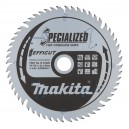 Diskas medienai MAKITA Specialized 165*20 mm Z56