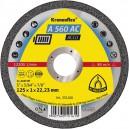 Pjovimo diskas KLINGSPOR Special 125*1,0*22,2 mm A560AC