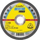 Pjovimo diskas KLINGSPOR Extra 125*1,0*22,2 mm A60EX