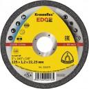 Pjovimo diskas KLINGSPOR EDGE 125*1,2*22,2 mm 2in1