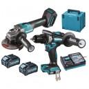 Baterinių įrankių rinkinys MAKITA XGT 40V MAX DK0124G201