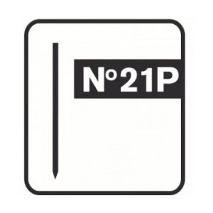 Smeigės cinkuotos RAPID 21P 30 mm