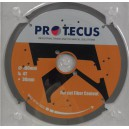 Diskas apdailos plokštėms PROTECUS 160x20 mm Z4