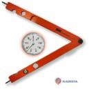 Indikatorinis kampmatis BMI Quadranfix 600 mm