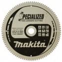 Diskas laminuotai medienai MAKITA Specialized 165*20 mm Z52