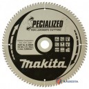 Diskas laminuotai medienai MAKITA Specialized 305*30 mm Z96