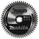 Diskas medienos pjovimui MAKITA Specialized 165*20 mm Z48