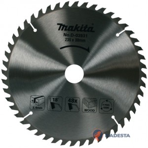 Diskas medienai MAKITA Standart 235*30 mm Z48
