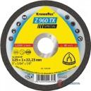 Pjovimo diskas KLINGSPOR Special 125*1,0*22,2 mm Z960TX