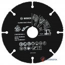 Diskas universalus BOSCH Multi Carbide 125 mm