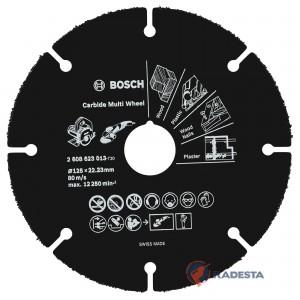 Diskas universalus BOSCH Carbide Multi Wheel 125 mm